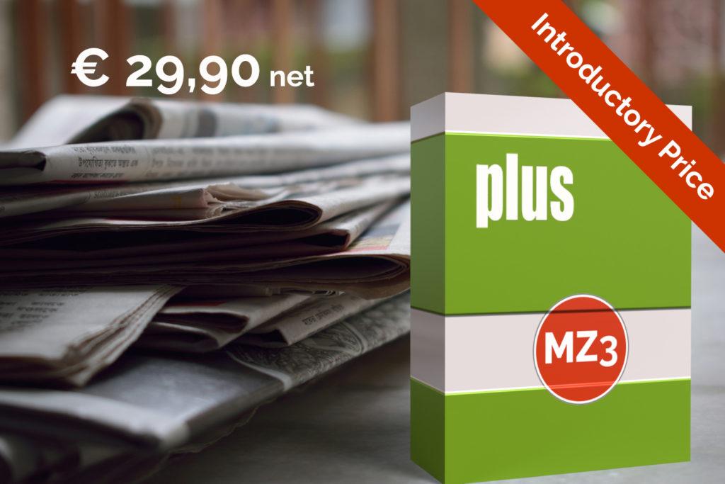 MZ3 plus - Best price for Offline plus Online publications